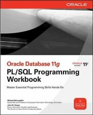Oracle Database 11g Pl/Sql Programming Workb... by Mclaughlin, Michael Paperback