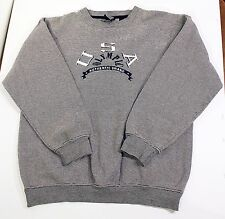 USA OLYMPIC Authentic Brand Long Sleeve Pullover Sweatshirt 2XL XXL Gray
