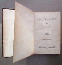 Châtiments par Victor Hugo, 1853, nouvelle édition