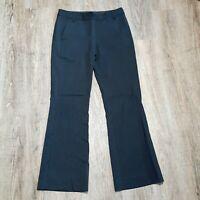BCBG Maxazaria Women's Dress Pants ~ Sz 4 ~ Black ~ Stripes ~ Wool Blend