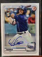 2020 Bowman Paper and Chrome Auto's Baseball Cards U Pick PA-BC PA-LJ BCP-DJ