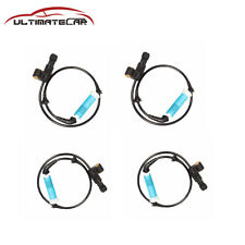4X New Front Rear Wheel ABS Speed Sensors For 2000-2008 BMW M3 Z4 320i 325Ci