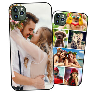 Personalised PHOTO Case Phone Cover for iPhone - COLLAGE Image / Text / Logo