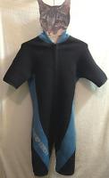 Deep Heet Wetsuit 100 Series Shorty Scuba Diving Snorkeling Watersports S (8T)