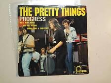 """PRETTY THINGS:Progress-We'll Play House+2-France 7"""" Fontana (M) 465 353ME EP PCV"""