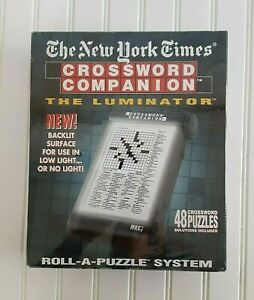 Crossword Companion New York Times Backlit Role-A-Puzzle System The Luminator