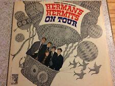 Herman's Hermits, On Tour, Mono, Vinyl Record LP