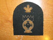 Royal Canadian Navy Trade Badge Electrical Technician GOLD