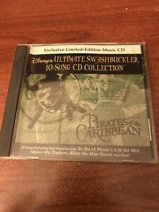 Disney Ultimate Swashbuckler 10 Song CD Collection Pirates Of The Caribbean