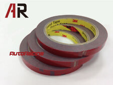 1mm thick 3M Automotive Acrylic Foam Double Sided Adhesive Tape (3 Rolls)