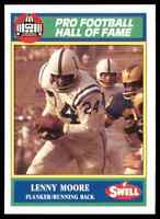 1989 Hall of Fame Green #81 Lenny Moore HOF RARE Baltimore Colts / Penn State