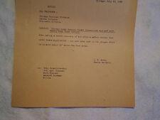 1968 CHICAGO & NORTHWESTERN RAILROAD ENGINEMEN NOTICE,galena division,wiscosnsin