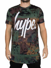 Hype Polyester Short Sleeve T-Shirts for Men