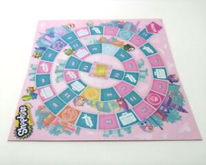 2017 Shopkins World Vacation Board Game Replacement Board Only