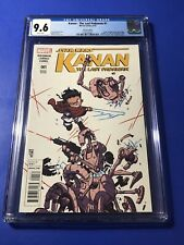 Star Wars Kanan Last Padawan #1 CGC 9.6 1st Sabine Wren Ezra Young Variant Comic