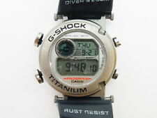 G-Shock Frogman DW-9900 NK-2JR MEN IN NAVY KAHKI Casio Titanium Watch Not Bezel