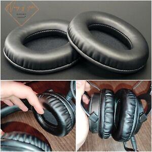 Oval Ellipse Egg Shape Soft Leather EarPads Foam Cushion For HP DHE-8005 Headset