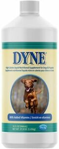 Dyne High Calorie Syrup 32oz Dietary Supplement for Dogs