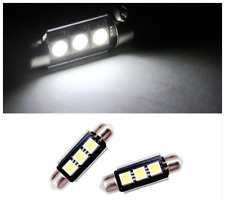 2PCS White 36MM 5050LED 3SMD car Festoon Light reading light License Plate Light