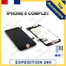 VITRE TACTILE + ECRAN LCD RETINA TOUT ASSEMBLÉ COMPLET POUR IPHONE 8 NOIR + FILM