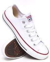 Converse Chuck Taylor Star Optic White Ox Top Skate Mens Womens Shoes Sizes