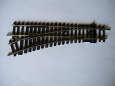 Hornby R8072 Nickel Silver Left Hand Point Switch Good Condition OO HO GAUGE