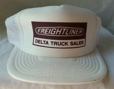 Freightliner Delta Truck Sales Mesh Trucker Cap Hat Snap Back - Great Condition!