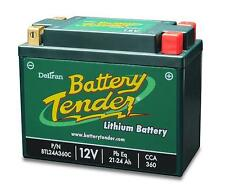 Battery Tender Lithium Iron Phosphate 12V 24AH 360CCA Replaces Yuasa YTX20HL-BS-