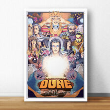 Jodorowsky's Dune | Limited Edition 24x36 Movie Poster | Giclee Art Print