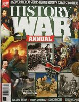 2020 HISTORY OF WAR ANNUAL Magazine GREAT BATTLES, WEAPONS, VEHICLES, VILLAINS