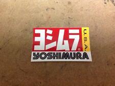 Genuine Yoshimura Exhaust Sticker NEW