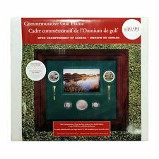 2004 10 Cents and $5 Coin Framed Set: Canada Open Championship (Golf)