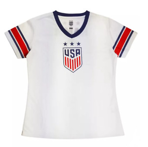 FIFA U.S. Soccer 2019 World Cup Alex Morgan Girls' White Jersey - C356