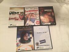 DVD Lot of 5 Rental Movies Five Diffrent Films Venus Big White Groomsmen DVDL20