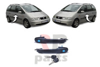 FOR SEAT ALHAMBRA 96-10, FORD GALAXY 95-06 NEW FRONT DOOR HANDLE PAIR SET
