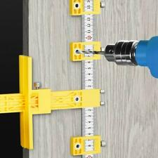 Punch Locator Drill Guide Woodworking Drilling Dowelling Hole Saw Adjustable