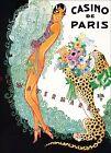 Josephine Baker Casino De Paris Jazz Singer Vintage Poster Print Theater Art