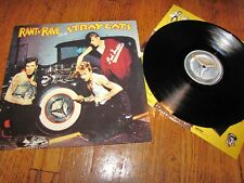 STRAY CATS - RANT N' RAVE WITH THE STRAY CATS - ARISTA RECORDS IMPORT LP