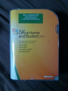 Microsoft Office Software Suites Home and Student 2007 for Windows