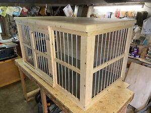 indoor dog kennel sliding door plz message before purchase for delivery info
