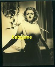 JEAN HARLOW ORIGINAL 7X9 PHOTO GLAMOROUS  DRAMATIC LIGHTING DOUBLE WEIGHT MATTE