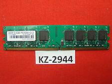 2GB DDR2 RAM Memory PC 667 PC 5300U SLZ2128M8-J6E #KZ-2944