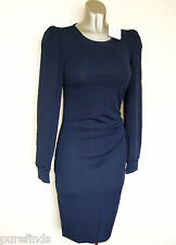 WOLFORD JERSEY DE LUXE DRESS NAVY SIZE 34, UK 6-8, USA 2-4, RRP £475, New in box