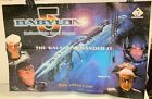 """Babylon 5 Collectible Card Game Poster 32.5""""x21"""" The Galaxy Demanded It"""