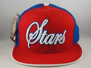 Philadelphia Stars Negro League Headgear Size 7 1/4 Fitted Hat Cap Red Royal