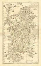 """""""le royaume de sardaigne"""". sardaigne. royaume de sardaigne. le rouge carte de 1753"""