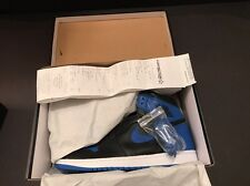 "Air Jordan 1 Retro High Og ""Royals"" SZ 10.5 100% Authentic  #555088-007 W-REC"