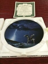 Bradford Exchange Prayer to the Storm Guidance Above Plate Bradex New In Box