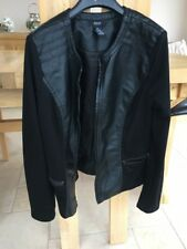 Alfani Petite Faux Leather Jacket Size PM