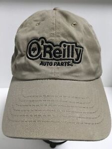 O'REILLY AUTO PARTS Logo Baseball Hat Adjustable Strapback One Size Ball Cap EUC